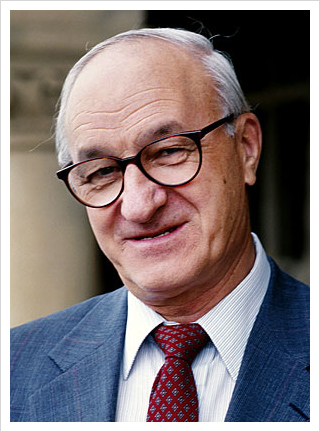 Albert Bandura, Psychologist from Stanfor University. Social psychology, self efficacy, moral disengagement, agency.