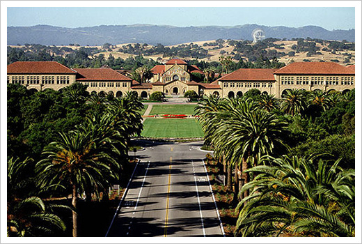 Stanford University, academic home of Psychologist Albert Bandura.