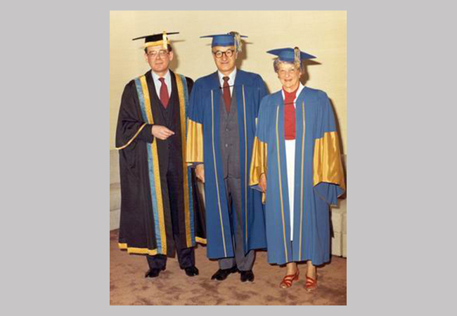 Albert Bandura Honorary Degree from the University of British Columbia, Vancouver, Canada, 1979.