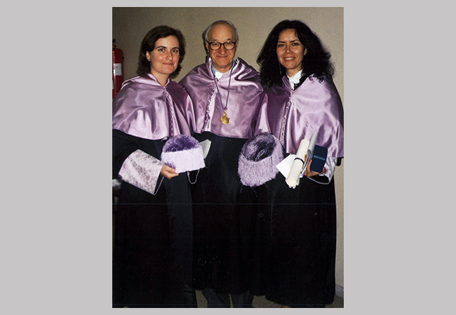 Albert Bandura Honorary Degree University of Salamanca, Spain, 1992