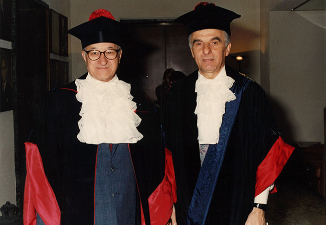 Albert Bandura Honorary Degree
