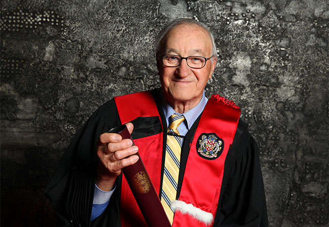 Albert Bandura Honorary Degree University of Athens, 2003